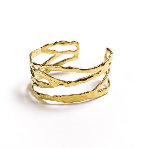 christina jervey jewelry bracelet handmade jewelrydesign cuff coral statement gold