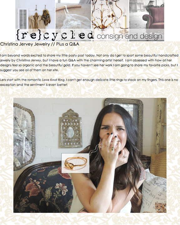 {Re}cycled Consign & Design | Aug 2013