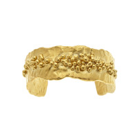 Gold_Granulated_Cuff_Bracelet