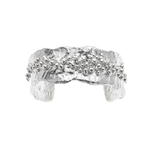 Sterling_Granulated_Cuff_Bracelet