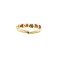 14k-Mult-Stone-Ring
