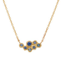 Sapphire-Cluster-Necklace